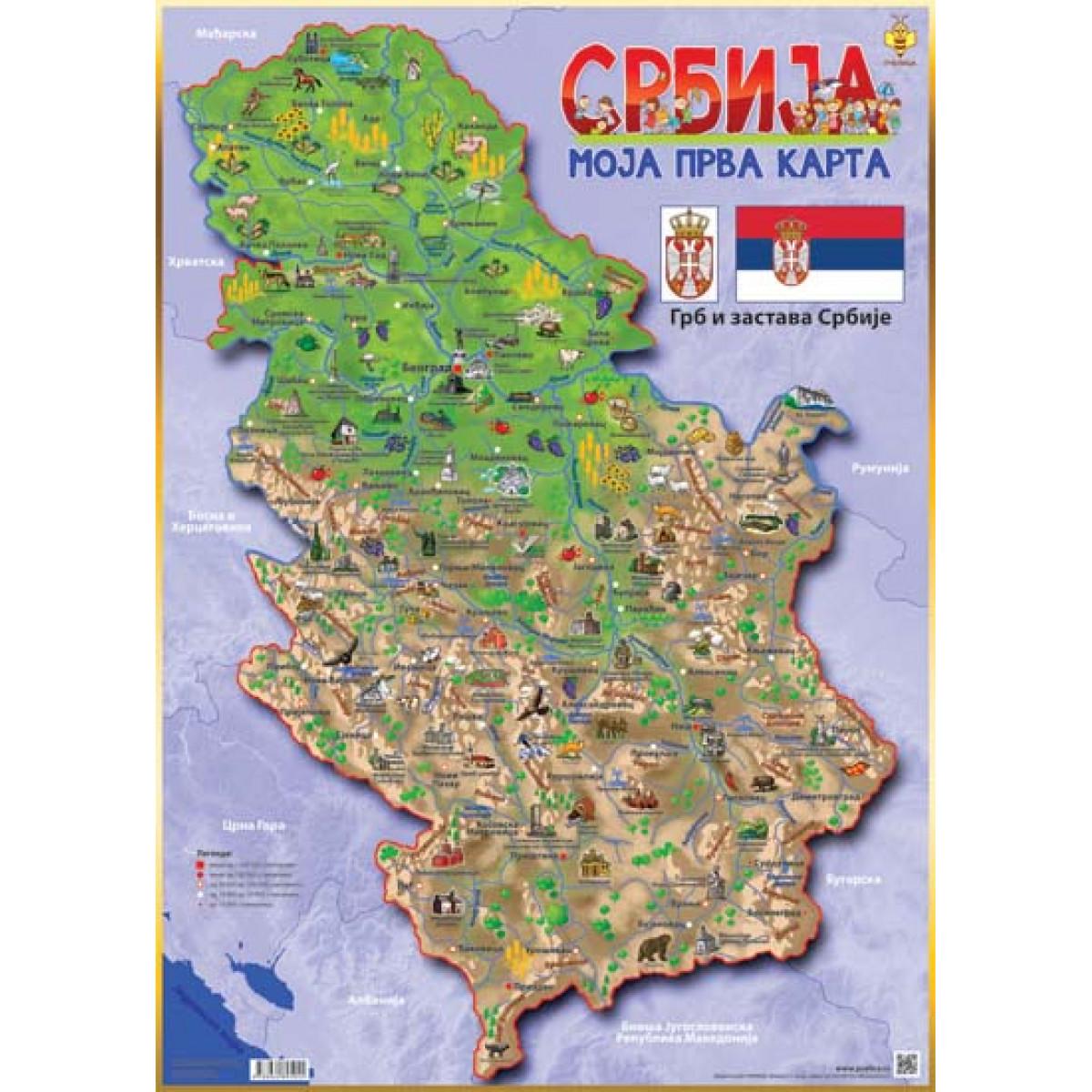 Karta Srbije Karta