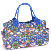 Tote torba BLUE STRAWBERRY THIEF