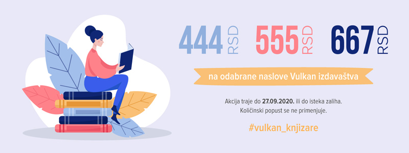 Knjige za 444, 555, 667 dinara