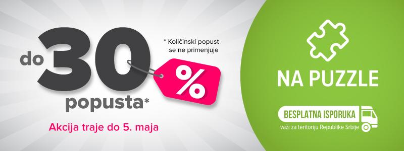 PUZZLE - DO 30% POPUSTA