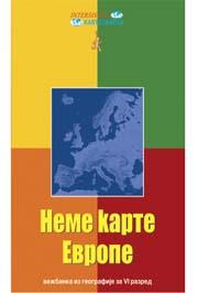 Nema Karta Evropa Vi Razred Milka Ivic Dubravka Petrovic