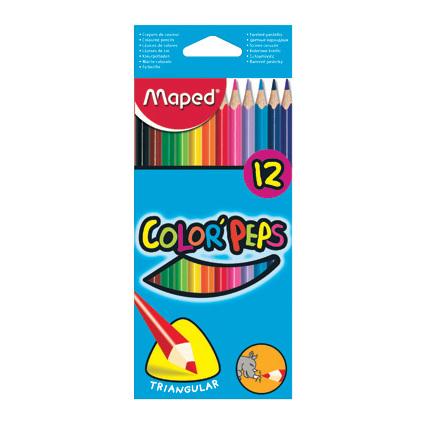 MAPED BOJICE COLOR PEPS 12