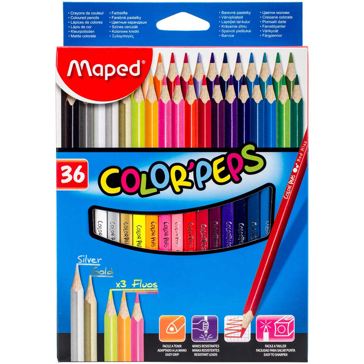MAPED DRVENE BOJICE Color Peps