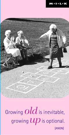 MILK INT MAG BOOKM HOPSCOTCH GRANNIES