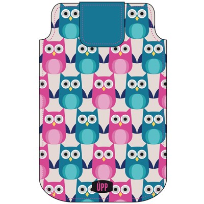 PHONE POUCH OWL REPEAT