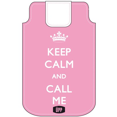 PHONE POUCH KEEP CALM AND CALL ME