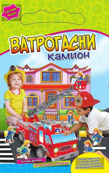 SASTAVI MODEL VATROGASNI KAMION