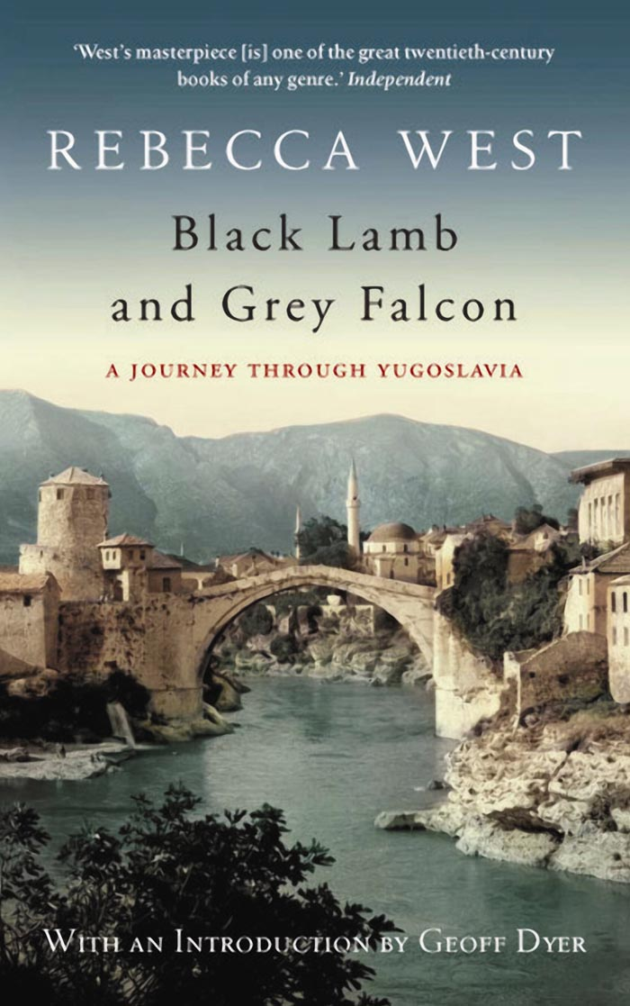 BLACK LAMB AND GREY FALCON