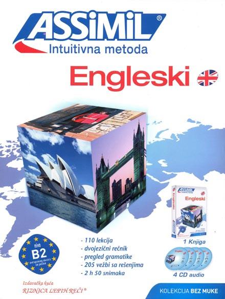 ASSIMIL INTUITIVNA METODA ENGLESKI B2 4 audio cd