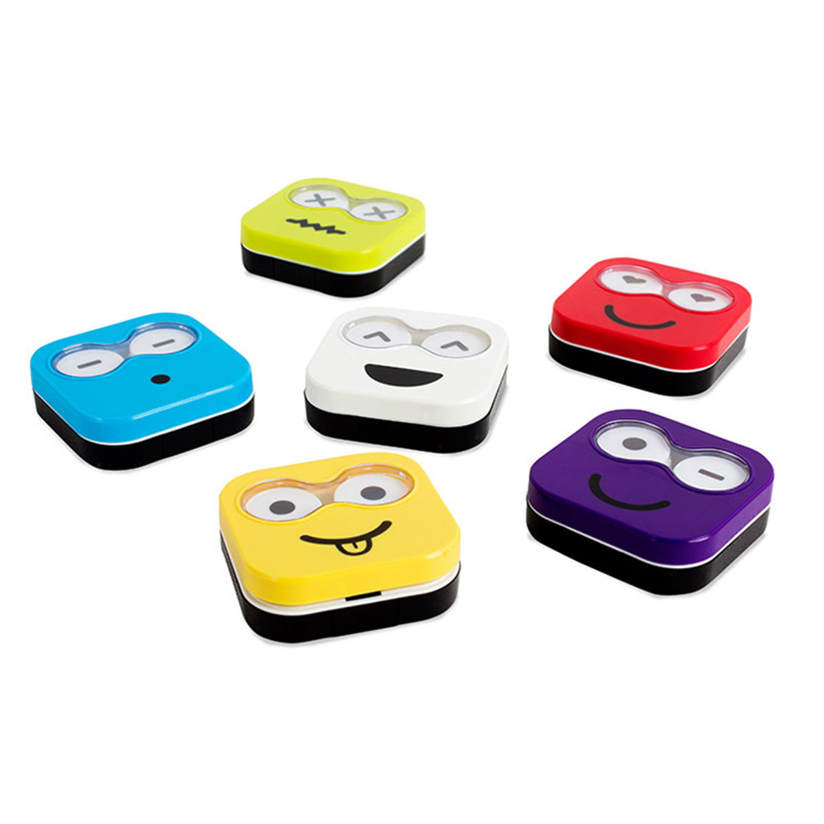 Etui CONTACT LENS CASE EMOJI