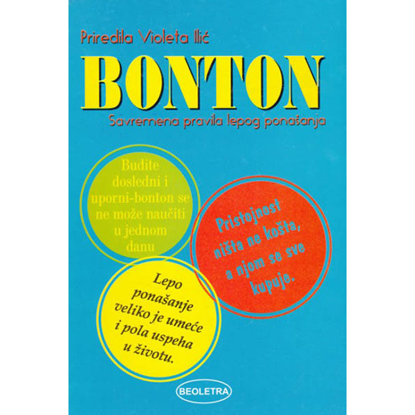 BONTON Savremena pravila lepog ponašanja