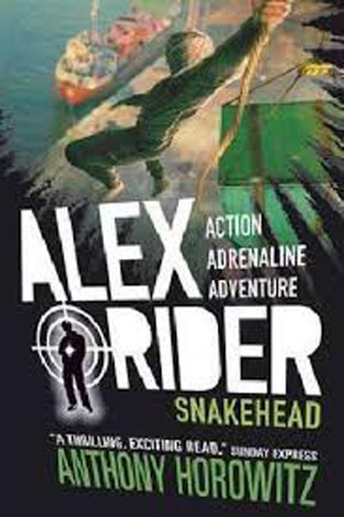 ALEX RIDER SNAKEHEAD