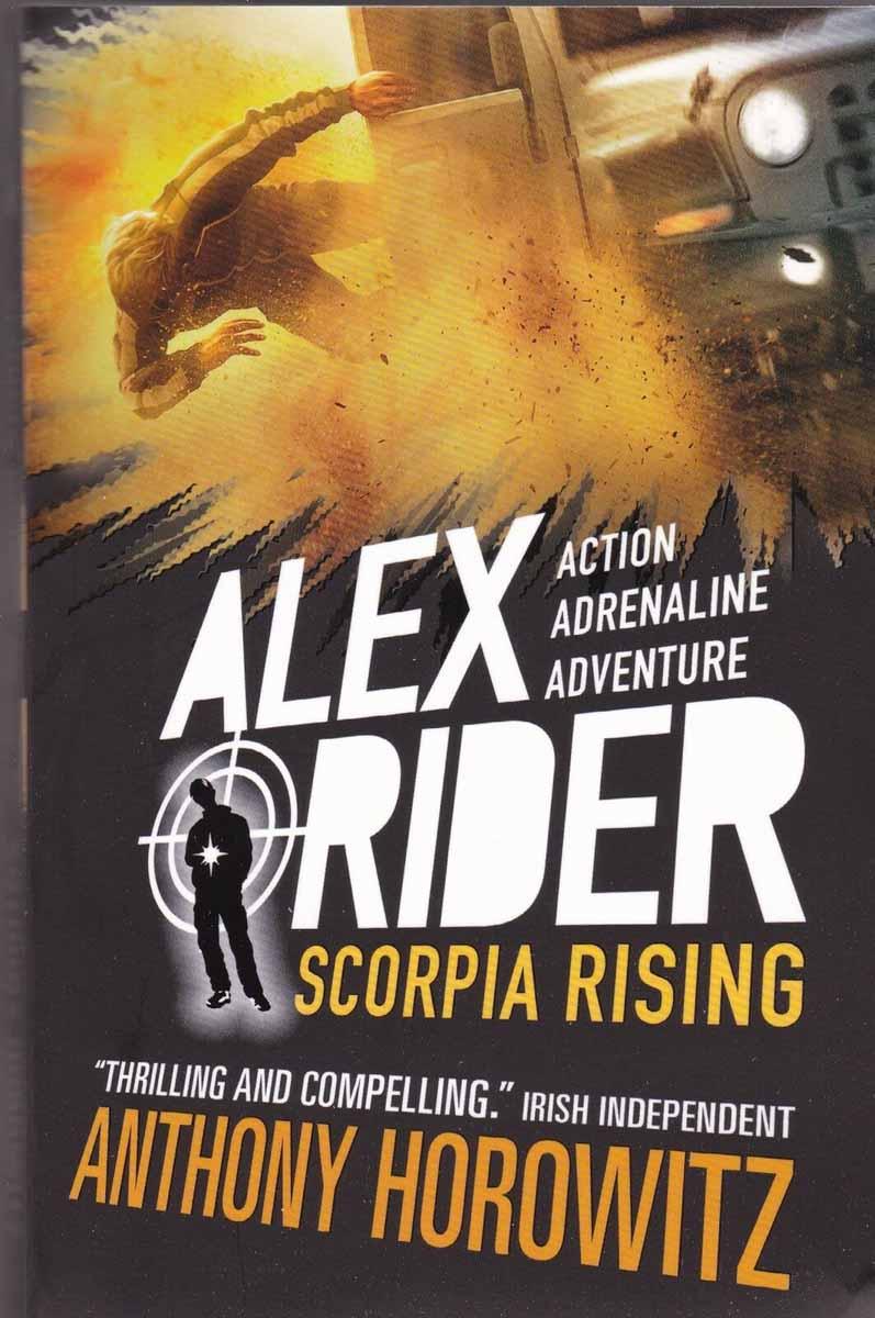 ALEX RIDER SCORPIA RISING