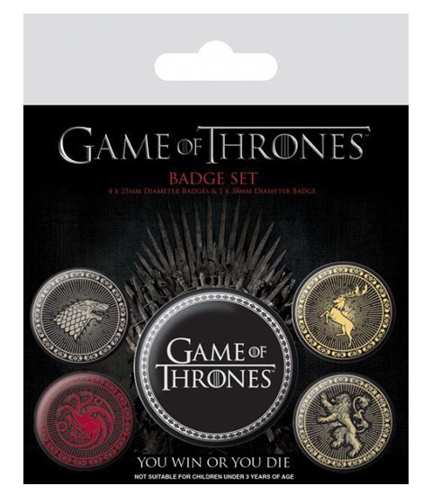 GAME OF THRONES THE FOUR GREAT HOUSES