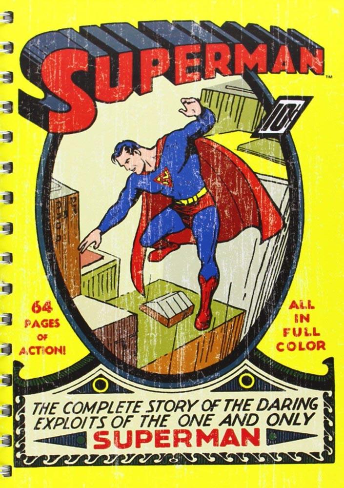 Notes sa spiralom A5 DC COMICS Superman No.1