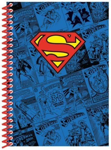 Notes sa spiralom A5 DC COMICS Superman Logo