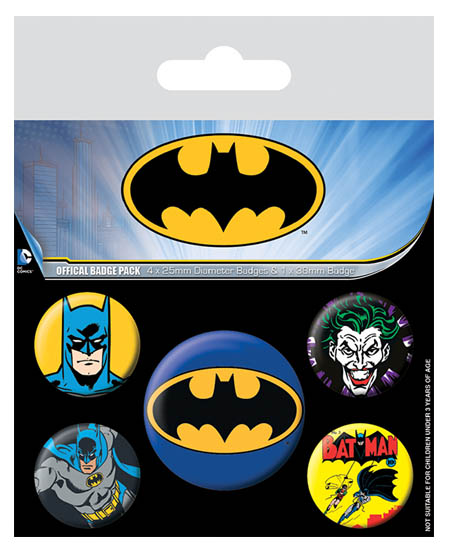 BATMAN BADGEPACK