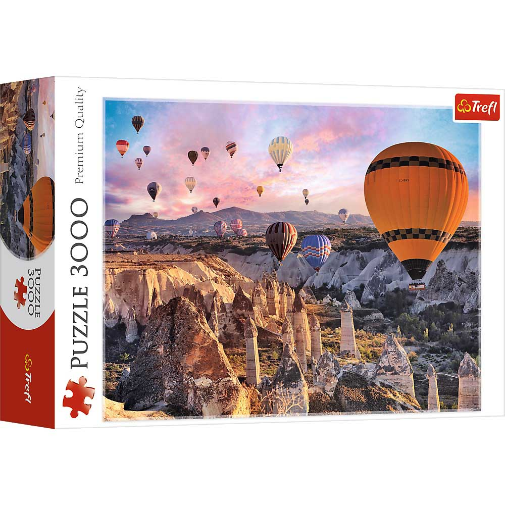 Puzzle TREFL Balloons Over Cappadocia 3000