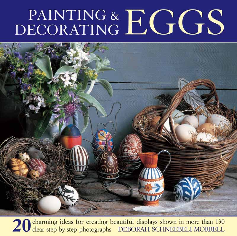PAINTING AND DECORATING EGGS