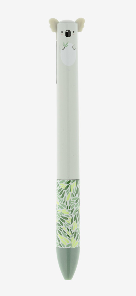 Hemijska olovka CLICK&CLACK plava i zelena