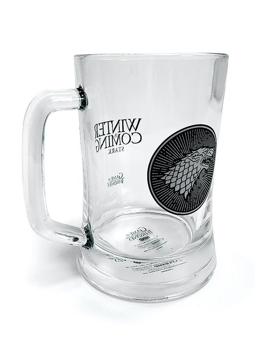 Čaša GAME OF THRONES (STARK) GLASS STEIN