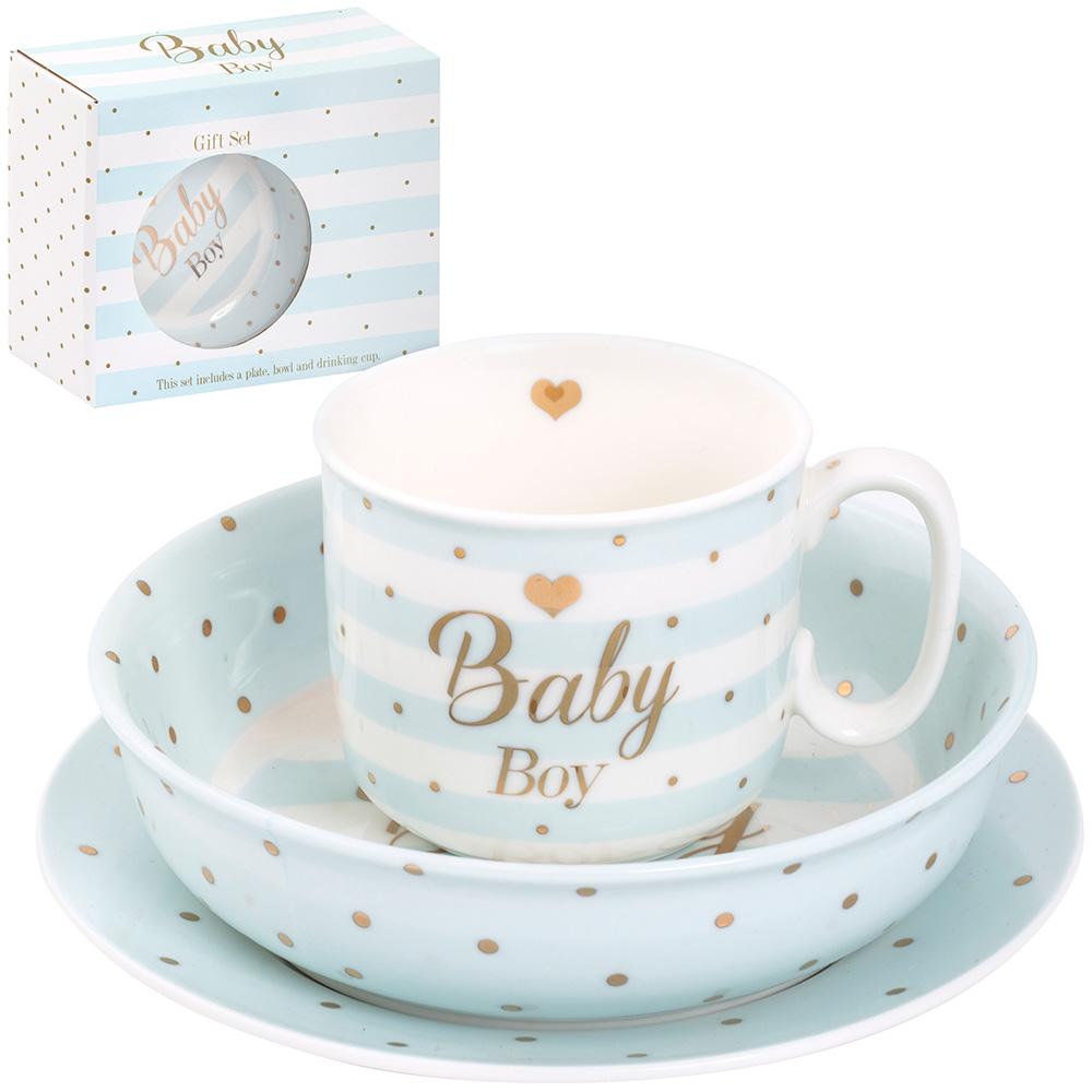 Poklon set BABY BOY mad dots