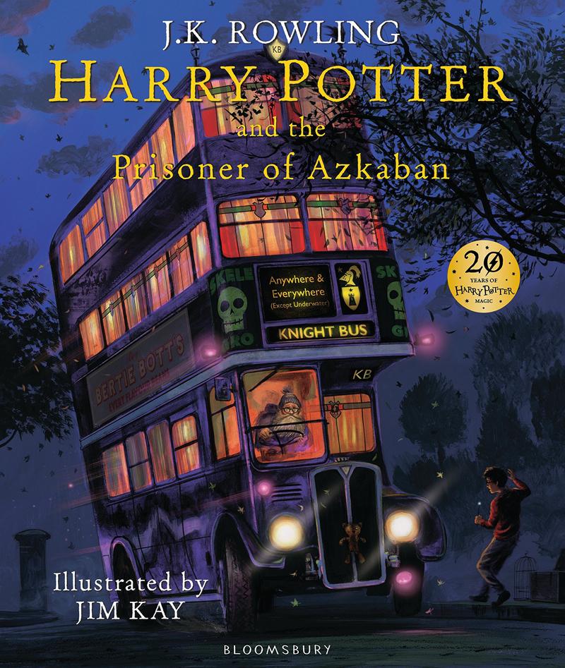 HARRY POTTER AND PRISONER OF AZKABAN ILLUSTRATED