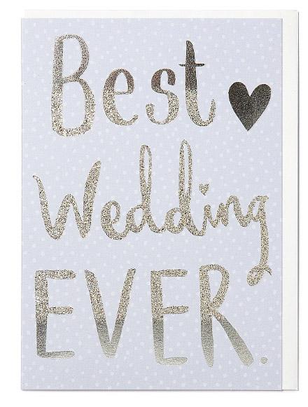 Čestitka za venčanje WEDDING
