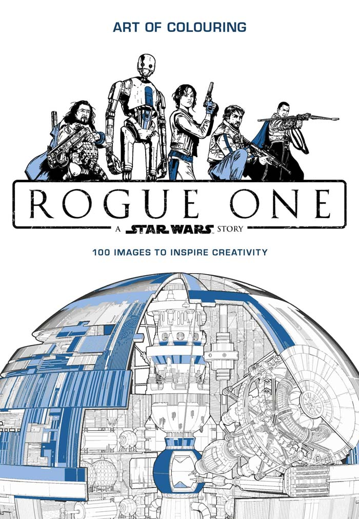STAR WARS ROGUE ONE COLOURING