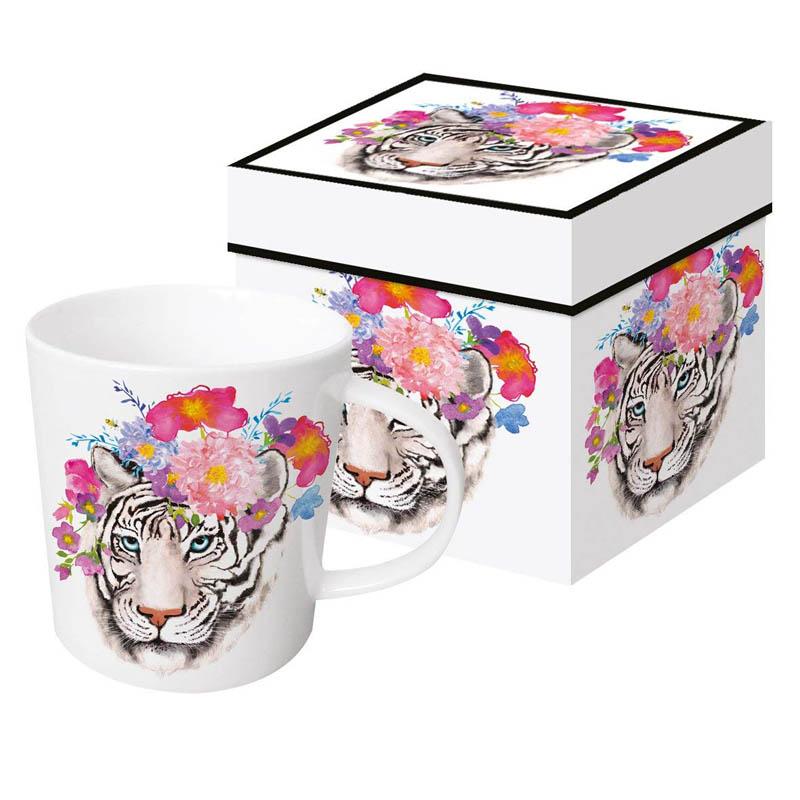Šolja u poklon kutiji FLORA Tiger