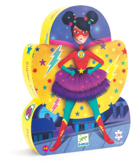 SILHOUETTE PUZZLE SUPER STAR 36 PCS