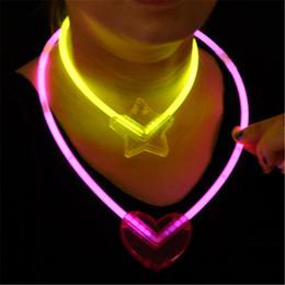 Svetleća ogrlica SRCE