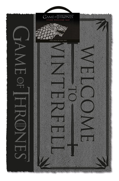 Otirač GAME OF THRONES Welcome to Winterfell