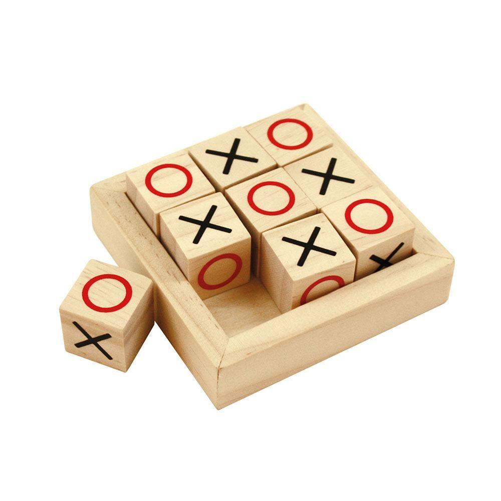 Drvena društvena igra XO