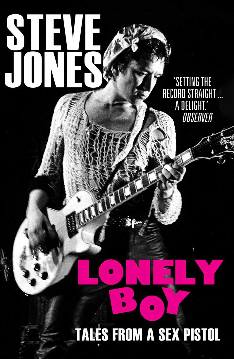 LONELY BOYl TALES FROM SEX PISTOLS