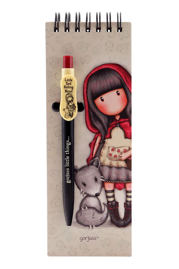 GORJUSS notes sa olovkom LITTLE RED RIDING HOOD