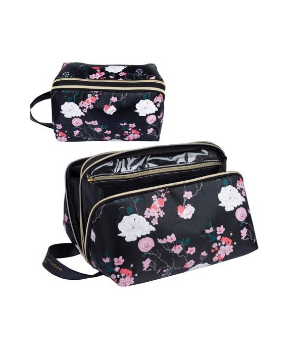 Neseser DOME DOUBLE COMPARTMENT TOILETRY BAG