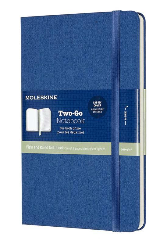 Notes TWO-GO MOLESKINE, plavi