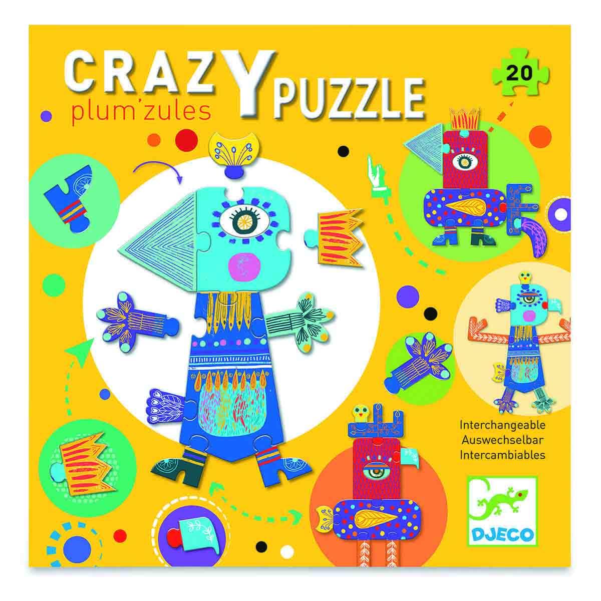 Puzzle GIANT PUZZLE CRAZY PUZZLE PLUM'ZULES