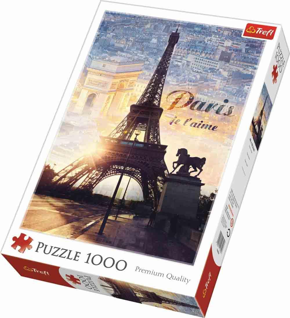 Puzzle PARIS AT DAWN 1000 kom