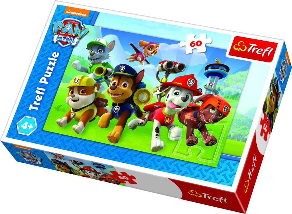 Puzzle TREFL PAW Patrol Ready For Action 60