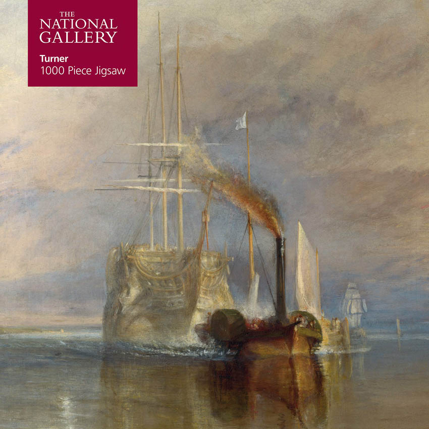 Puzzle NATIONAL GALLERY Turner: Fighting Temeraire 1000