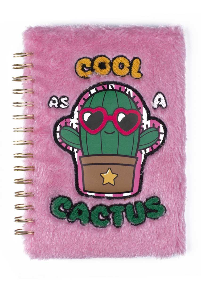 Notes sa spiralom FUZZY Cool as a cactus