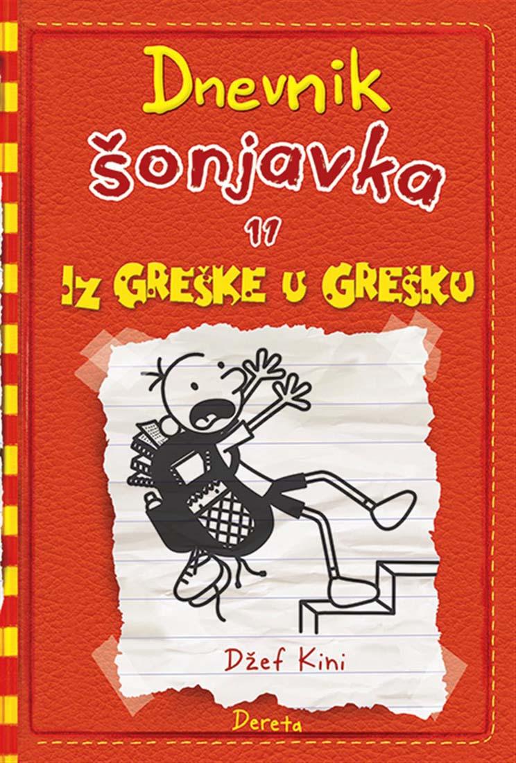 DNEVNIK ŠONJAVKA 11 Iz greške u grešku II izdanje