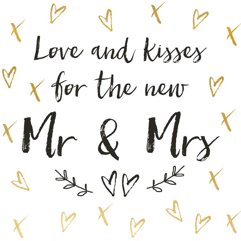 Svadbena Čestitka PIANO MR & MRS