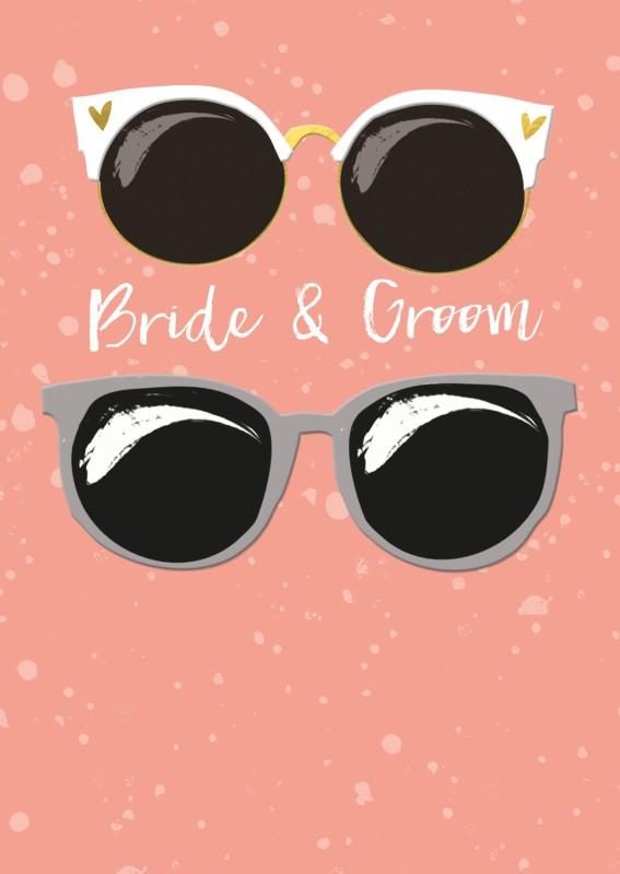 Čestitke Venčanja BRIDE AND GROOM GLASSES