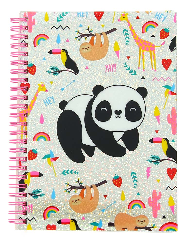 Notes A5 HAPPY ZOO Just Hangin, Panda