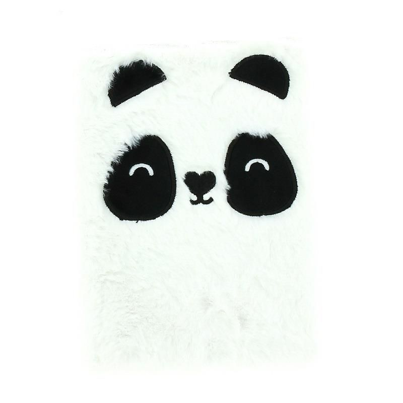 Notes plišani A5 HAPPY ZOO Panda