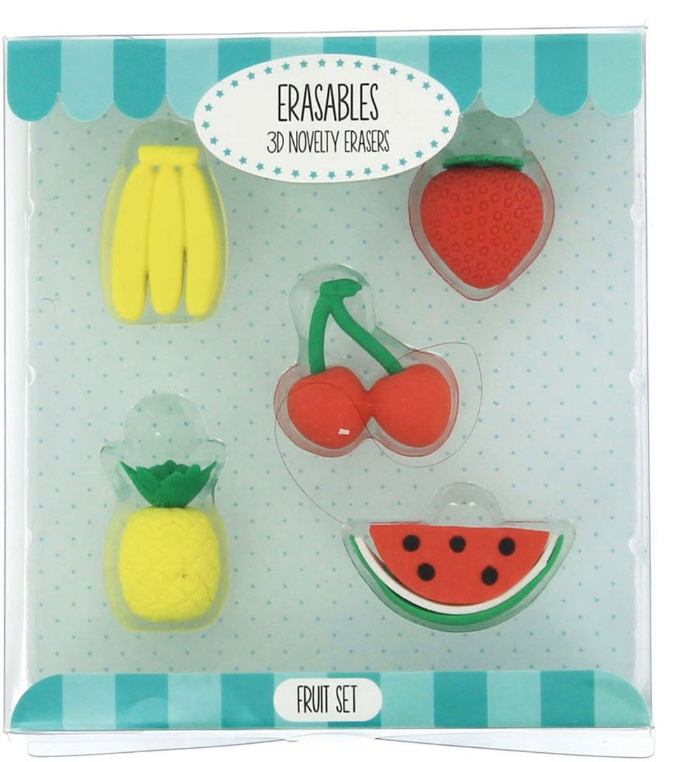 Set gumica za brisanje FRUIT