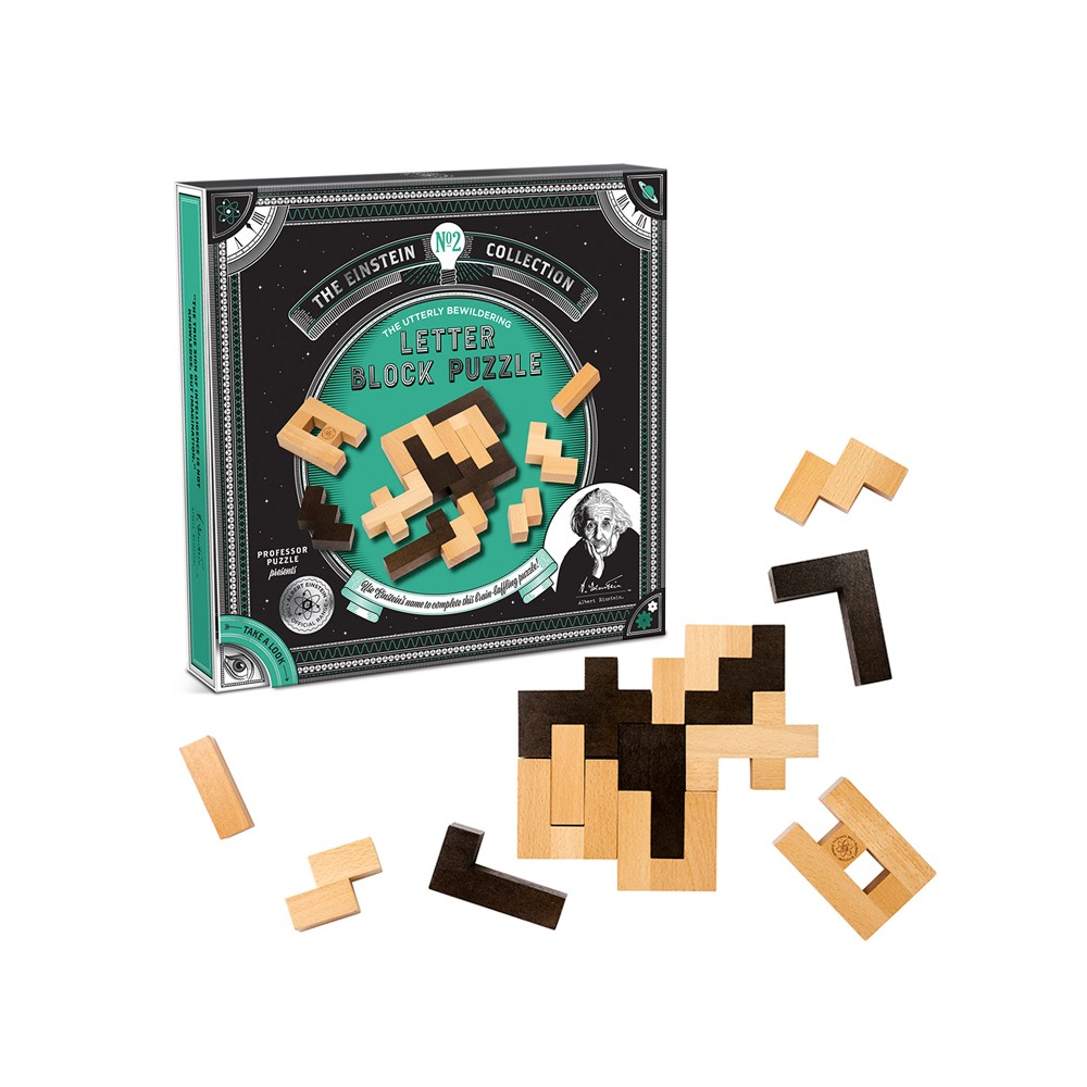 PROFESSOR PUZZLE Letter block puzzle
